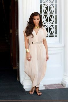 Kim Kardashian...totally obsessed with this look