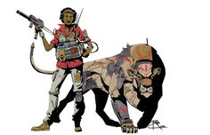 B5 Lion Ranger by CrazyAsian1 on DeviantArt