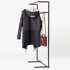 151x90 cm Clothes Rack - Black - alt_image_three