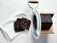Trine Hahnemann - Danish Malted Rye Bread w Seeds, via KCRW's Good Food