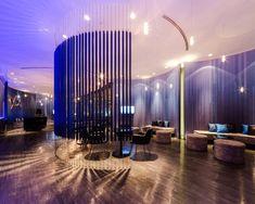 NYX Sale Office, by TROP, for Sansiri | Wison Tungthunya & W Workspace Lobby Reception, Reception Areas, Beautiful Architecture, Architecture Art, Space Photos, Condominium, Restaurant Bar, Interior Design, Museum