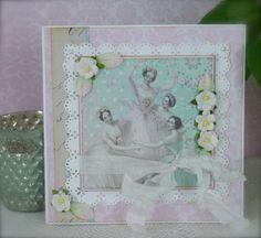 Synnøves Papirverksted: Ballerina i pastell