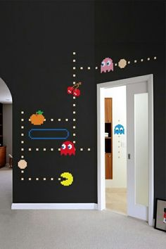 PACMAN room Bring fun back into your kids' rooms (BIG kids too)!