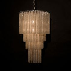 Tiered monastery chandelier, from Hudson Furniture