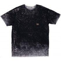 Primitive Acid Wash T-Shirt Black Short Sleeve Mens Skateboarding Top Large