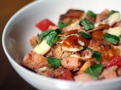 Grilled Cheese Curd Panzanella | Serious Eats : Recipes