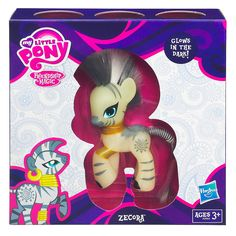 """I wanted to thank Troy, who got me a Zecora to cheer me up! :D My Little Pony - Friendship is Magic - Limited Edition Glow in the Dark Zecora Figure - Hasbro - Toys """"R"""" Us"""