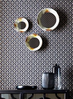 Shop from our fabulous selection of designer Geometric Wallpaper Patterns. Cheap Wallpaper, Wallpaper Samples, Wall Wallpaper, Pattern Wallpaper, Interior Wallpaper, Geometric Wallpaper, Basic Colors, Surface Design, 1970s