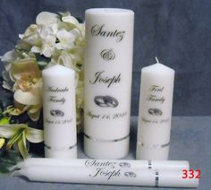 112 best personalized candles images on pinterest candles