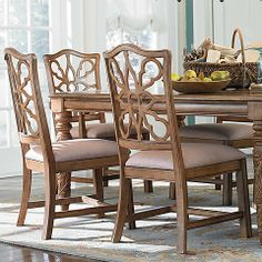 Broyhill Affinity Dining Room Set Affinity Upholstered Back Side Chair Set Of 2Broyhill