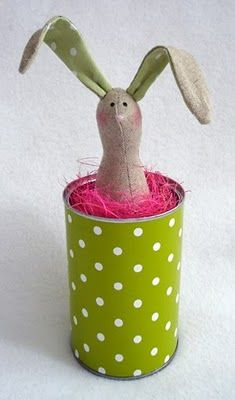 bunny in a can