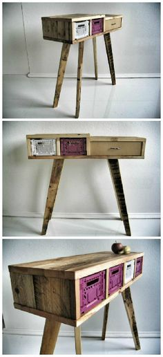 productwerft #Crates, #RecycledPallet, #UpcycledFurniture