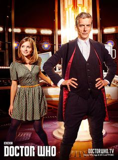 Doctor Who Series 8 premiere: Saturday August 23!!!