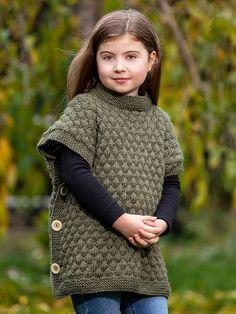 Free Childrens Knitting Patterns, Poncho Knitting Patterns, Knitting For Kids, Baby Knitting, Crochet Motif, Crochet Baby, 123 Cross Stitch, Knitted Baby Cardigan, Crochet Handbags