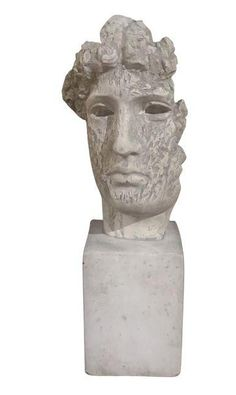 Large Vintage Plaster Bust www.reposedny.com www.studiolanereposedny.com