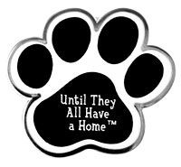 Until They All Have a Home™ Paw Pin at The Veterans Site