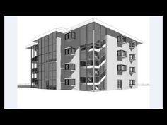 Revit Tutorial | Revit Architecture 2014 | Tutorial for Beginners | House Design 1 - YouTube