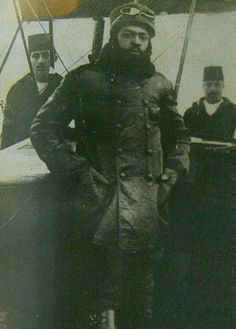 WORLD'S FIRST BLACK PILOT: Ahmet Ali Çelikten  While many black people were still being treated as slaves or worse, Ottoman Muslim Air Forces member Ahmet Ali Efendi was the first black pilot of the world.