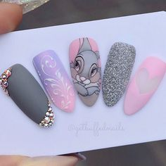 """""""Ihr Erfolg ist unsere Belohnung"""" – Ugly Duckling Nails Inc. – Today Pin """"Your success is our reward"""" – Ugly Duckling Nails Inc. Gorgeous Nails, Love Nails, Fun Nails, Pretty Nails, Nails Inc, Disney Acrylic Nails, Cute Acrylic Nails, Disney Nails Art, Disney Inspired Nails"""