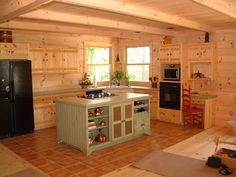 Vintage Rustic Kitchen Cabinets | View Larger, Higher Quality Image