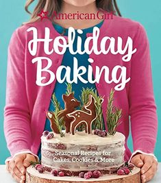 Amazon.com : holiday baking cookbook Cocoa Cookies, Peppermint Cookies, Baking Cookbooks, New Cookbooks, Dessert Cookbooks, American Girl, Girl Cooking, Cooking Tips, Cookie Exchange Party