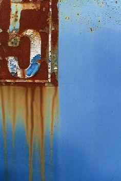 "rusty ""5"" #sign #distress"