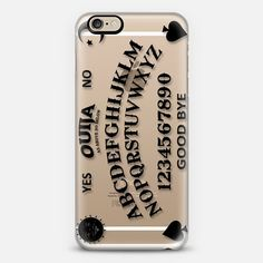 Ouija - Transparent - New Standard Case #ouija #occult #ghost #paranormal #board #game #transparent #iphone #case