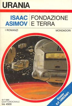 1131 	 FONDAZIONE E TERRA 15/7/1990 	 FOUNDATION AND EARTH (1986)  Copertina di  Vicente Segrelles 	  ISAAC ASIMOV