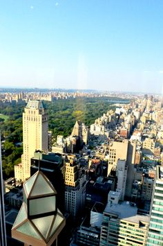 This is what I call a room with a view. At Four Seasons Hotel New York City. More at www.carlosmeliablog.com