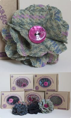 Buttonbag | Heritage Tweed Corsage