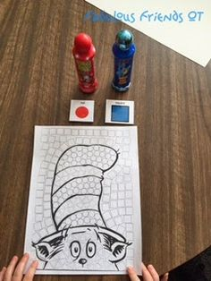 Ask any kid in elementary whose birthday it is this week, and they will tell you~ Dr. Who doesn't love Dr. Best Picture For dr seuss week clothes For Your Taste Yo Dr. Seuss, Dr Seuss Art, Dr Seuss Crafts, Dr Seuss Week, Preschool Crafts, Dr Seuss Abc Book, Preschool Literacy, Preschool Themes, Preschool Lessons
