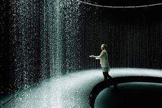 """The Play of Brilliants"" at the Parisian center of art. The friendship between water and light."