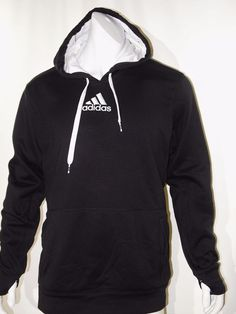 Adidas climawarm tech men's pull over fleece hoodie size xxl  NEW on SALE #adidas #hoodie