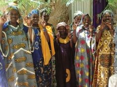 The Women of Sampara Village in Mali, West Africa.