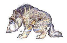 Beastie 2 by Weaslet