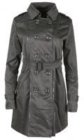NEW WOMENS DOUBLE BREASTED BELTED LONG TRENCH LAPEL OUTERWEAR COAT JACKET (1)