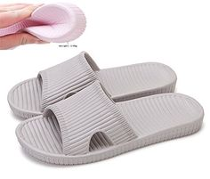 Introducing Slip On Slippers Nonslip Shower Sandals House Mule Soft Foams  Sole Pool Shoes Bathroom Slide · Pool ShoesWater ShoesMen s ... 562f6d54fba1