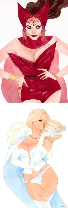 X-Men Couture by Kevin Wada | Inspiration Grid | Design Inspiration