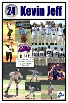 Baseball Senior Night Poster Baseball Crafts, Baseball Mom, Softball, Baseball Stuff, Volleyball, Soccer Gifts, Sports Gifts, Team Gifts, Senior Night Gifts