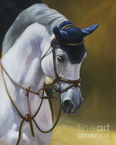 Saratoga Jumper Painting by Janet Crawford. Had to look her name up, this piece deserves the artists name