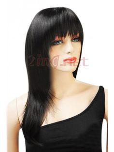 $45.01Chic's 60cm Straight #Black #Fashion #Wig