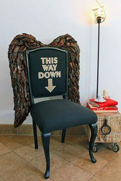 Demon chair black