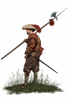 Spanish Sergeant - 17th. Century                                                                                                                                                                                 More