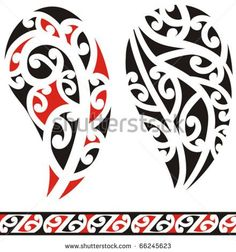 Find Set Maori Tribal Tattoo stock images in HD and millions of other royalty-free stock photos, illustrations and vectors in the Shutterstock collection. Tahitian Tattoo, Maori Tribal Tattoo, Maori Art, Koru Tattoo, Libra Tattoo, Leg Tattoos, Girl Tattoos, Tattoo About Strength, Maori Patterns