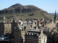 Arthur's Seat- beautiful dormant volcano in my favorite city in the UK-- Edinburgh, Scotland