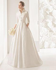 Los vestidos de novia con manga larga 2017 más bonitos , Blogmujeres.com