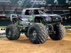 Robby Gordon's Monster Truck
