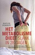 Haylie Pomroy / Het metabolismedieet : slank in 28 dagen. Opgeleid als dierenarts en later tot voedingskundige past de auteur haar kennis toe op de mens met overgewicht. Haar mening is dat overgewicht komt door een luie en trage stofwisseling en dit kan door voeding veranderen.
