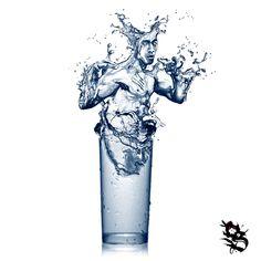 """Be like Water"" Bruce Lee"