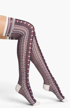 Free People 'Boyfriend' Over the Knee Socks | Nordstrom